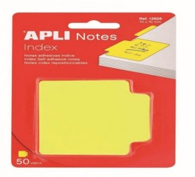 NOTES INDEX 70x70 50F J FLUO