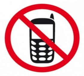 PICTO INTERDIT AU TELEPHONE PORTABLE 1F