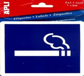 PICTO AUTORISATION DE FUMER 1F