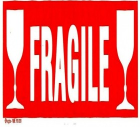 P 100 ETIQ FT 60X190 FRAGILE