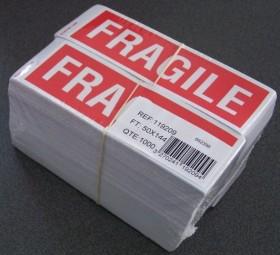 P 1000 ETQ FRAGILE 50X144