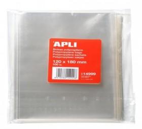 S.100 SACHET PLASTIC PP.120X180MM