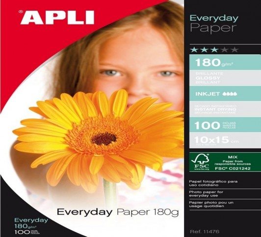 P.EVERYDAY PAPER10X15180G.100F
