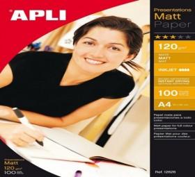 PAPIER PHOTO MATT 120G 100F