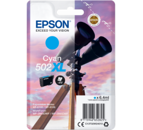 Cartouche origine EPSON 502 XL Yellow
